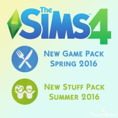 The Sims 4 Game pack 03 and stuff pack 07