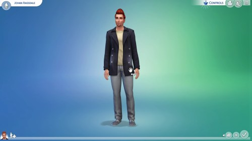 The Sims 4 Xbox One CAS