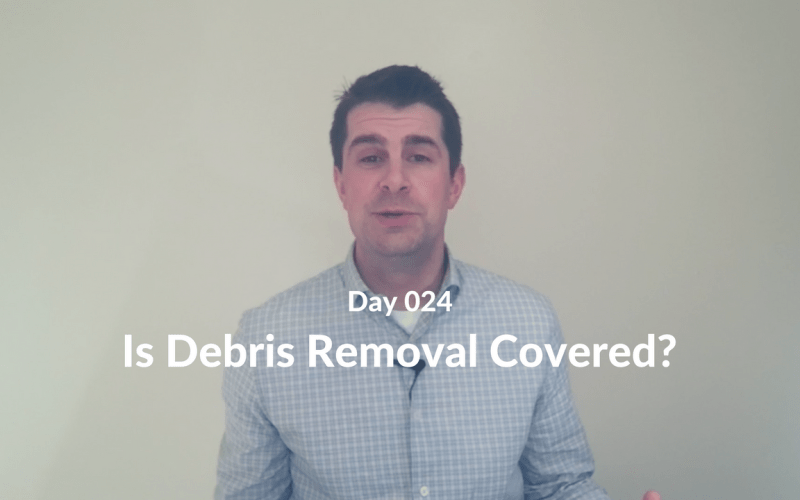 Is Debris Removal Covered?