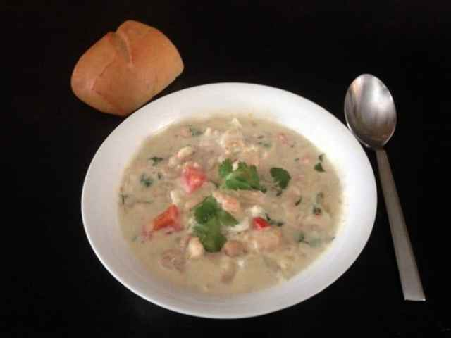 you're sure to love this white chicken chil crock pot recipe.