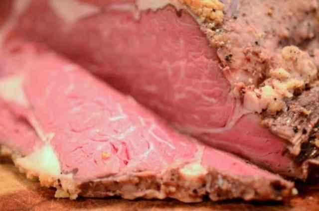 How to roast prime rib in the oven.