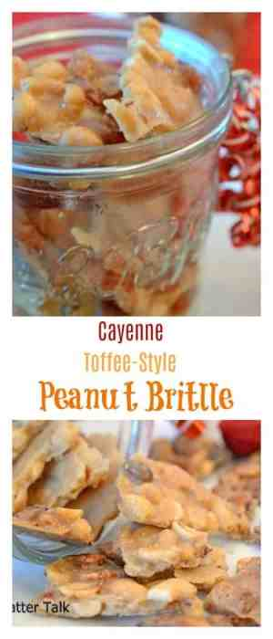 """This Cayenne Toffee-Style Peanut Brittle is the perfect recipe for holiday food gifts. If you have ever asked, """"How do you make peanut brittle?"""" then this post and recipe is one you must read!"""