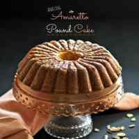 Amazing Amaratto Pound Cake
