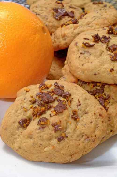 Orange Chocolate Ribbon Cookies