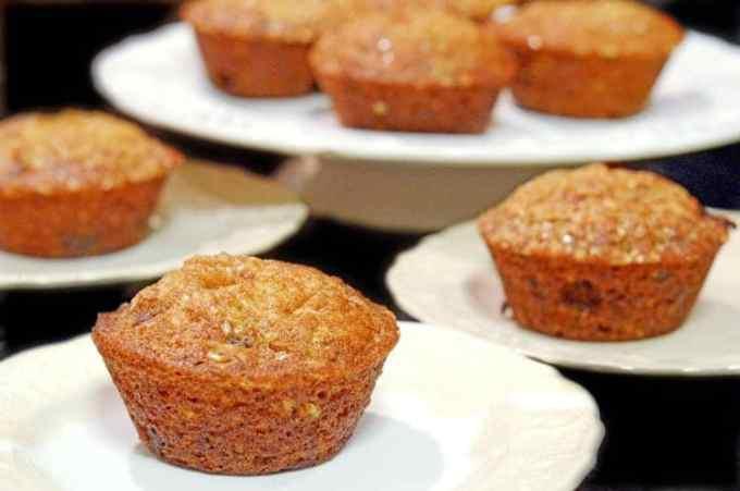 Banana Chocolate Chip Muffins from Platter Talk