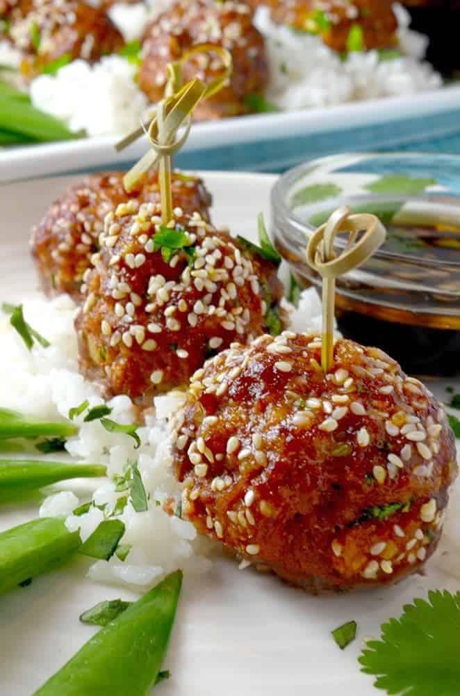 Asian Meatballs Recipe