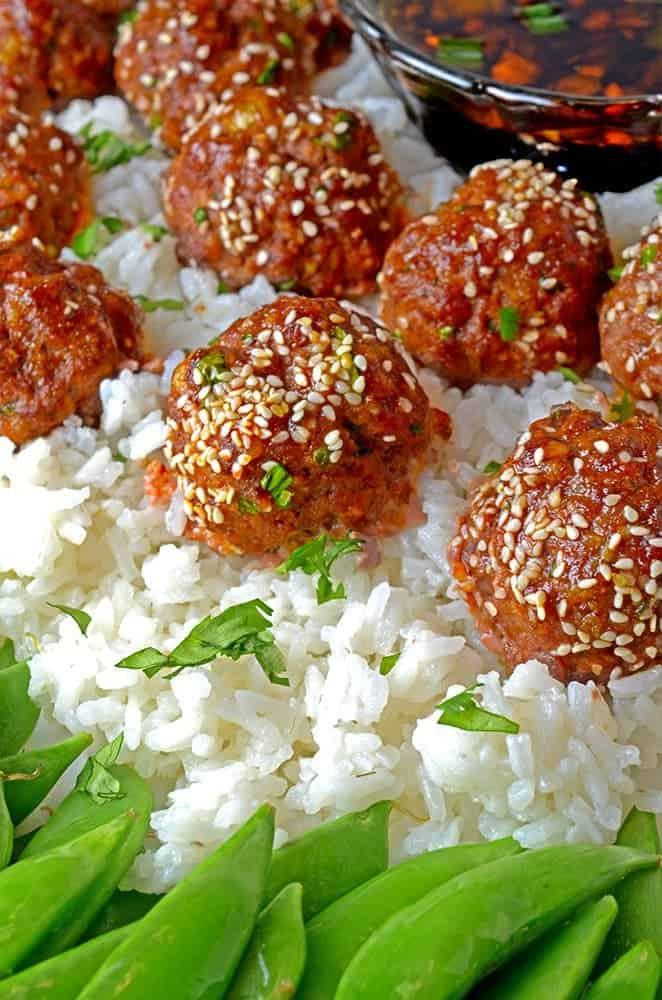 Asian Meatballs Recipe from Platter Talk