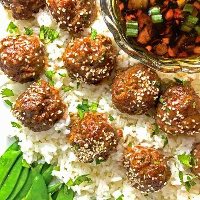Asian Meatballs Rewcipe