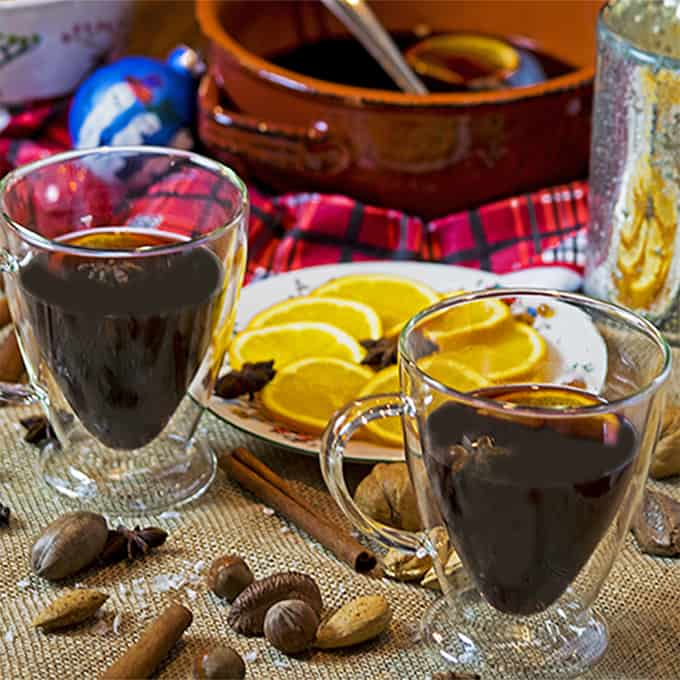 Mulled Red Wine Sangria is easy to make.