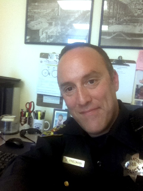 Who's @SFPDBikeTheft? Meet the Man Behind the Twitter Handle: Officer Matt Friedman