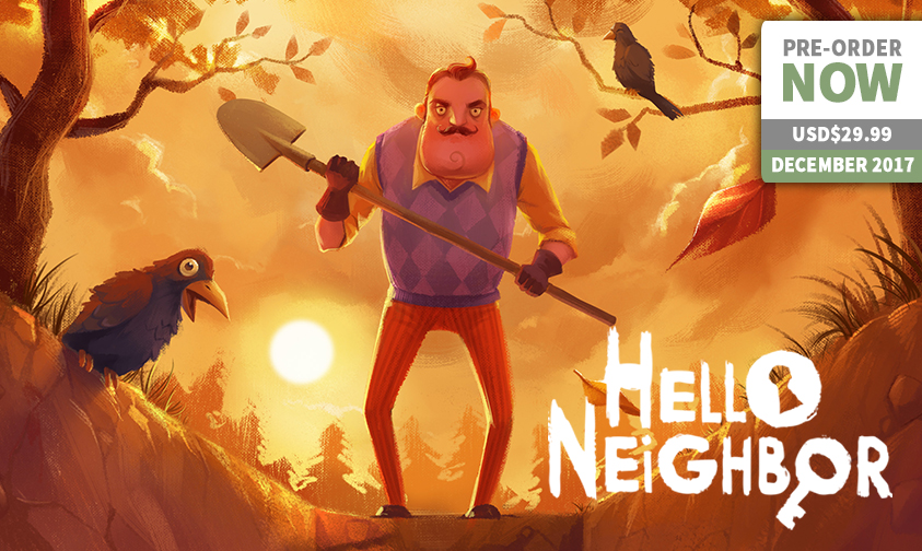 Peek A Boo! Hello, Neighbor - Playasia Blog