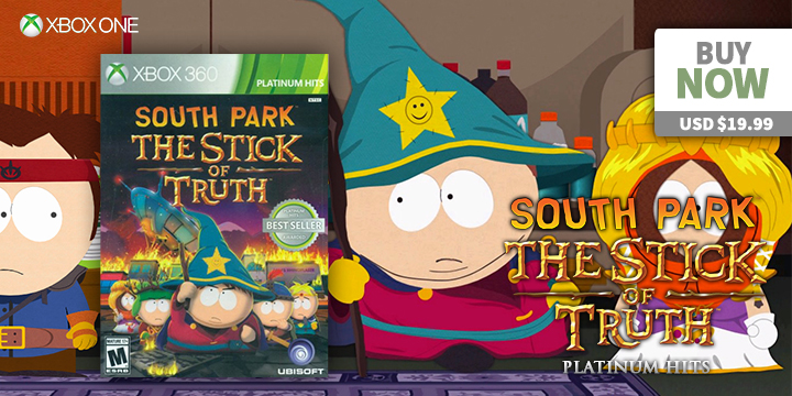 Play-Asia.com, South Park: The Stick of Truth, South Park: The Stick of Truth US, South Park: The Stick of Truth Europe, South Park: The Stick of Truth PlayStation 4, South Park: The Stick of Truth Xbox One, South Park: The Stick of Truth gameplay, South Park: The Stick of Truth features, South Park: The Stick of Truth price, South Park: The Stick of Truth release date