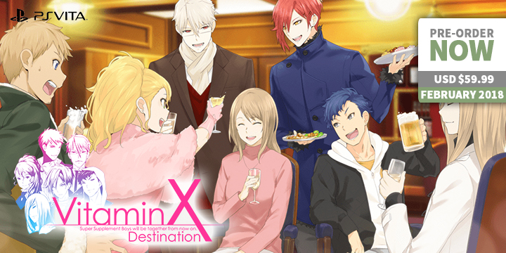 Can You FeelAlready Feel The Romance Of February With VitaminX Destination?