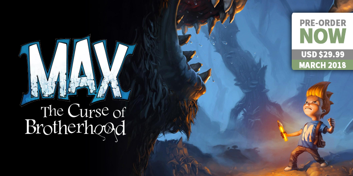 Play-Asia.com, Max: The Curse of Brotherhood, Max: The Curse of Brotherhood Nintendo Switch, Max: The Curse of Brotherhood US, Max: The Curse of Brotherhood Europe, Max: The Curse of Brotherhood gameplay, Max: The Curse of Brotherhood features, Max: The Curse of Brotherhood release date, Max: The Curse of Brotherhood price