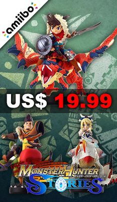 AMIIBO MONSTER HUNTER STORIES SERIES FIGURE (SPECIAL TRIO PACK)