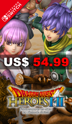 DRAGON QUEST HEROES I・II FOR NINTENDO SWITCH