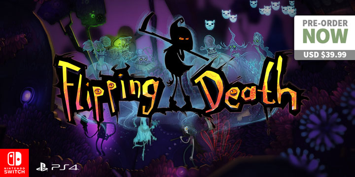 play-asia.com, Flipping Death, Flipping Death PlayStation 4, Flipping Death Nintendo Switch, Flipping Death Europe, Flipping Death US, Flipping Death release date, Flipping Death price, Flipping Death gameplay, Flipping Death features