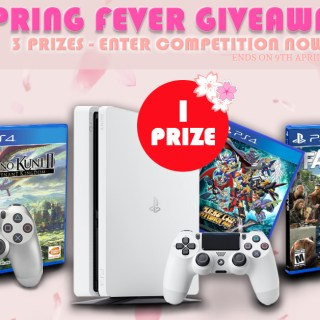 play-asia.com, play-asia.com giveaways, play-asia.com spring promo 2018, PS4 Console 500GB, Super Robot Wars X Game PS4, Dualshock, Ni No Kuni II PS4, Far Cry 5 PS4