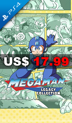 MEGA MAN LEGACY COLLECTION - Capcom