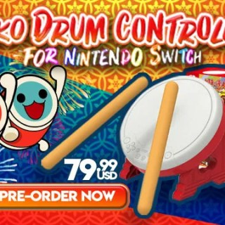 Taiko Drum Controller for Nintendo Switch, Nintendo Switch, Taiko Drum Controller for Nintendo Switch Japan, Taiko Drum Controller for Nintendo Switch features, Taiko Drum Controller, Taiko Drum Controller for Nintendo Switch accessories, Taiko Drum Controller for Nintendo Switch price, Taiko Drum Controller for Nintendo Switch release date, 太鼓の達人専用コントローラー 「太鼓とバチ for Nintendo Switch」, Taiko Master's Controller for Nintendo Switch