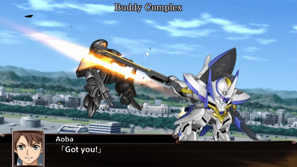 Super Robot Wars X Buddy Complex