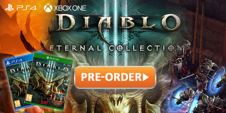 Physical Edition of Diablo III: Eternal Collection Arrives