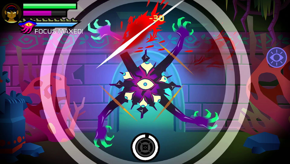 Slash with precision and timing with SEVERED PSVita!