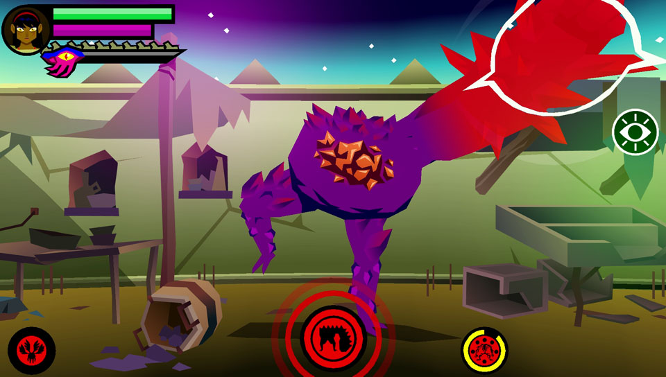 Fight tons of bosses in Severed for PlayStation Vita!