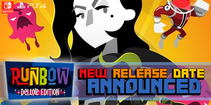Runbow Deluxe Edition,  Runbow, PlayStation 4, Nintendo Switch, release date, price, gameplay, features, update, game, US, North America, Europe