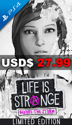 Life is Strange: Before the Storm [Limited Edition], Square Enix