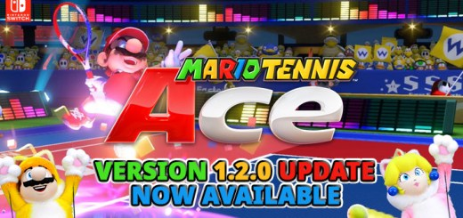 Mario Tennis Ace, Nintendo, Switch, US, Europe, Japan, updates, Version 1.2.0, gameplay, features, trailer, screenshots