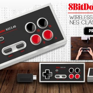 8BitDo N30 2.4G Wireless Gamepad for NES Classic Edition, 8BitDo, NES, Wireless, release date, price, features, screenshots