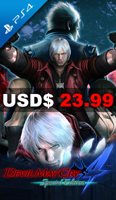 DEVIL MAY CRY 4 SPECIAL EDITION (GREATEST HITS) (ENGLISH & JAPANESE) Capcom