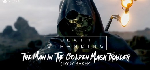 Death Stranding, PlayStation 4, US, North America, Europe, game, release date, trailer, screenshots, Tokyo Game Show 2018, update, Tokyo Game Show, TGS 2018, Japan, Asia, The Man in the Golden Mask, Troy Baker, new character artworks