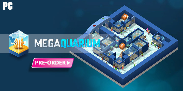 Megaquarium, Windows PC, PC, Europe, release date, price, gameplay, features, trailer, game, Excalibur Publishing Limited, Twice Circled