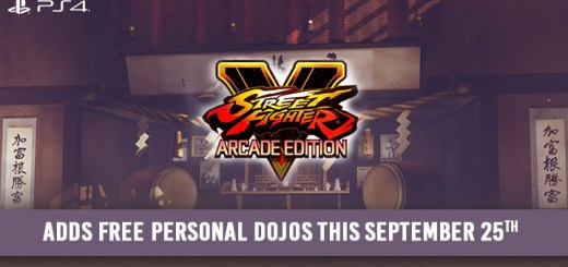 Street Fighter, Street Fighter V, Street Fighter V: Arcade Edition, PS4, Us, Europe, Japan, Asia, gameplay, features, trailer, screenshots, update, dojo, dojos