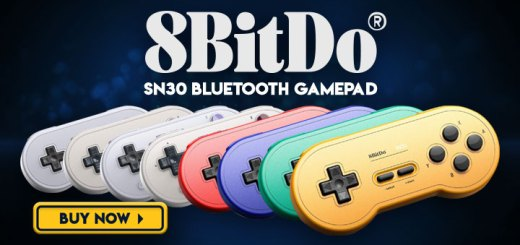 8Bitdo, 8Bitdo SN30 Bluetooth GamePad, SN Edition, G Classic Edition, GP Blue Edition, GP Red Edition, GP Yellow Edition, GP Green Edition, G Classic Edition, SN Edition, controller, gamepad, accessory, PC, Mac, Android, Switch, Nintendo Switch