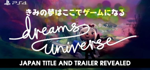 Dreams, Dreams Universe, PlayStation 4, Japan, release date, price, gameplay, features, update, Tokyo Game Show 2018, TGS 2018, Media Molecule, new trailer