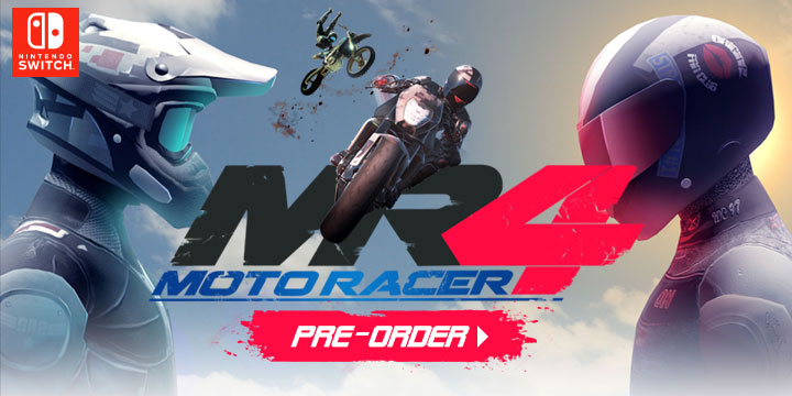 Moto Racer 4, Nintendo Switch, Europe, release date, gameplay, features, price