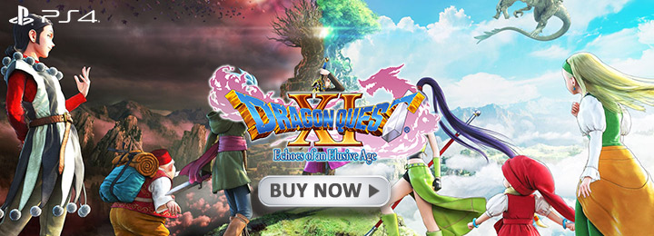 Dragon Quest XI: Echoes of an Elusive Age, PS4, US, Europe, Australia, Asia, gameplay, features, trailer, screenshots, launch trailer, update, A Legend Reborn Launch Trailer