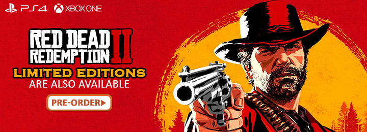 Red Dead Redemption, Red Dead Redemption 2, PS4, XONE, US, Europe, Japan, Australia, Asia, gameplay, features, release date, price, trailer, screenshots, Rockstar Games, Red Dead Redemption II, updates
