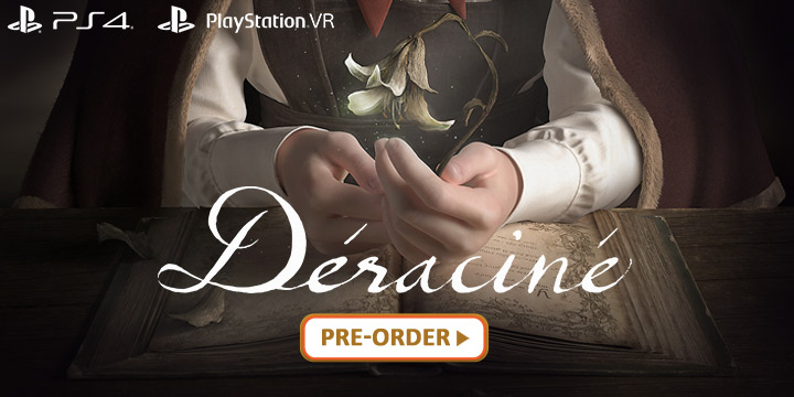 FromSoftware's Déraciné: The PlayStation VR Exclusive Launches this