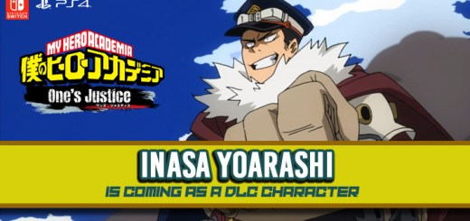Boku no Hero Academia, Boku no Hero Academia: One's Justice, PS4, Switch, Japan, gameplay, features, update, trailer, screenshots, DLC, Endeavor, Inasa Yoarashi, Gale Force