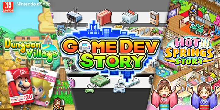With Kairosoft titles, a universe of businesses welcomes you