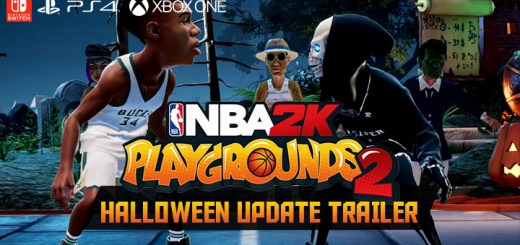 NBA 2K Playgrounds 2, 2K Games, Saber Interactive, North America, US, Nintendo Switch, PlayStation 4, Xbox One, Europe, Australia, Asia, Multilanguage, release date, gameplay, features, price, game, trailer, update, Halloween update, new trailer
