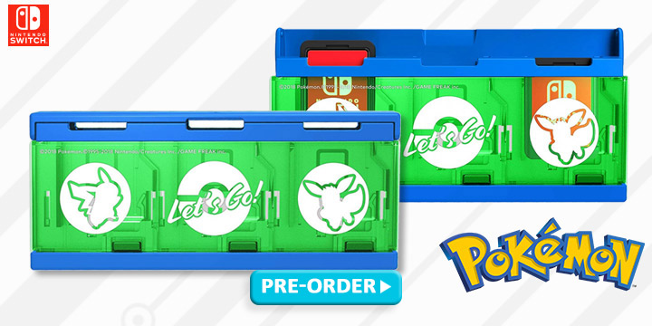 PC Cover for Monster Ball Plus, Hori, Nintendo Switch, Japan, release date, Nintendo Switch accessories, accessories, features, Pokémon: Let's Go themed Nintendo Switch Accessories,Hard Pouch for Monster Ball Plus,Just Put On Charging Stand for Monster Ball Plus,Nintendo Switch Sling Bag,Pocket Monsters Hard Pouch for Nintendo Switch (Pikachu x Eevee),Pocket Monster Push Card Case 6 for Nintendo Switch (Pikachu x Eevee),Push Card Case, Nintendo