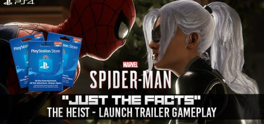 Spider-Man, The Heist Trailer, DLC Trailer, PlayStation 4, Japan, Asia, US, North America, Europe, release date, gameplay, features, price, trailer, DLC, The Heist DLC, Marvel's Spider-Man: City That Never Sleeps, City That Never Sleeps DLC, update, post-launch DLC, The Heist Just the Facts