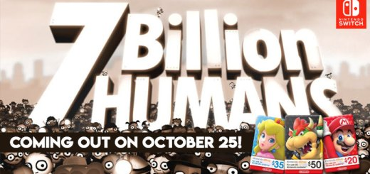 7 Billion Humans, Nintendo Switch, Nintendo eShop, Nintendo eShop cards, release date, pre-order, game, features, trailer, Tomorrow Corporation