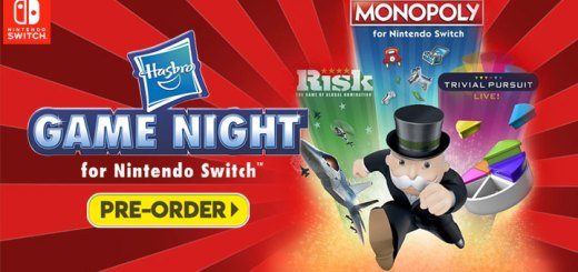 Hasbro Game Night for Nintendo Switch, Ubisoft, Nintendo Switch, release date, price, gameplay, features, US, North America, Europe, game