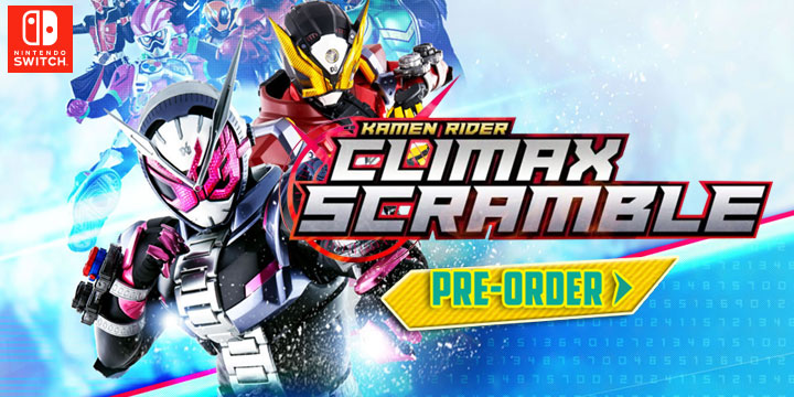 Kamen Rider Climax Scramble, Kamen Rider, Bandai Namco, Switch, Nintendo Switch, gameplay, features, release date, price, trailer, screenshots, Kamen Rider: Climax Scramble Zi-O, Japan, Asia